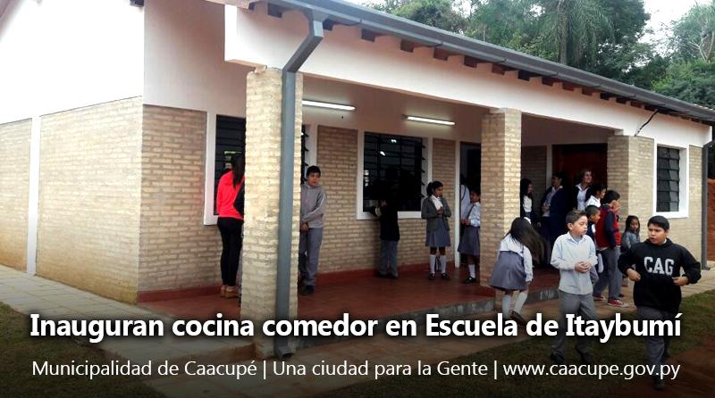 Inauguran cocina comedor en escuela de itaybum for Comedor de escuela