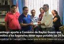 Se entregó aporte a Comisión de Itaybú Guazú que permitirá a los lugareños tener agua potable las 24 horas