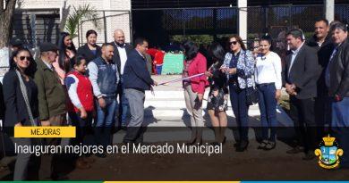 Inauguran mejoras en el Mercado Municipal