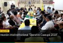 Primera reunión interinstitucional «Operativo Caacupé 2018»