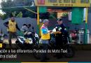Notificación a las diferentes Paradas de Moto Taxi de nuestra ciudad