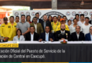 Presentación Oficial del Puesto de Servicio de la  Gobernación de Central en Caacupé.